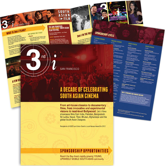 3rd i Films Sponsorship Brochure