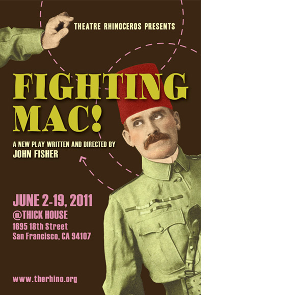 """Fighting Mac!"" poster"